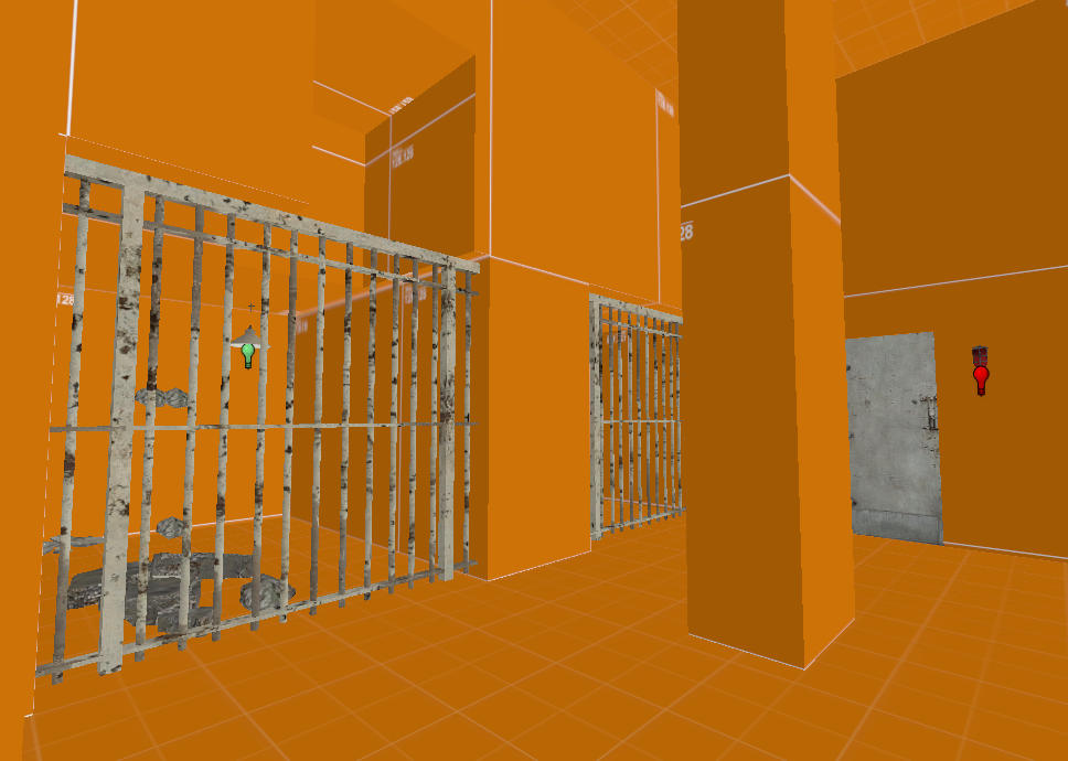 Constructing the prison cells